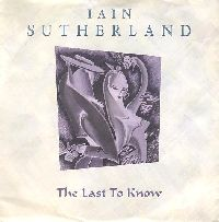 Picture of single cover: The Last to Know