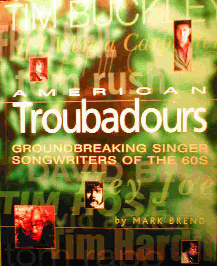 Cover of American Troubadours by Mark Brend