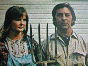 David & Janice on cover of American Gothic