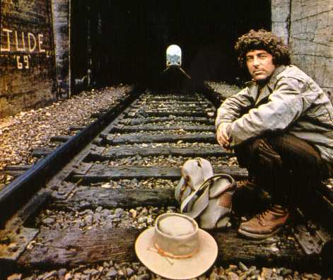 David on the back cover of Subway to the Country, his second album.